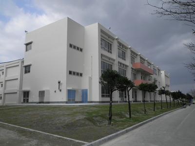 美里高校校舎改築工事