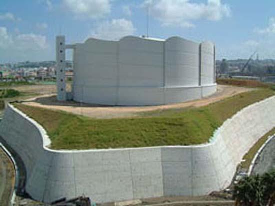 泊配水地建設工事